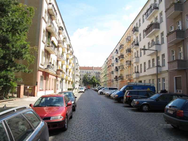 Blick in die Matternstraße